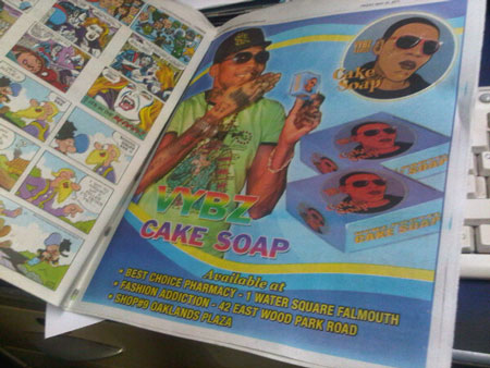 vybz kartel cake soap bleaching. vybz kartel cake soap cartoon.